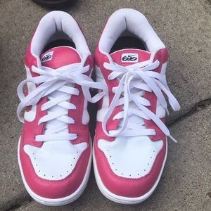 Pink & White Nike Sneakers